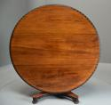 Mid 19th century large Anglo Indian padouk circular centre table - picture 3