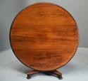 Mid 19th century large Anglo Indian padouk circular centre table - picture 5