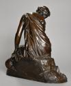 Mid 19th century French bronze 'Reflections' by Alexandre Schoenewerk - picture 12