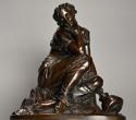 Mid 19th century French bronze 'Reflections' by Alexandre Schoenewerk - picture 5
