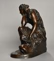 Mid 19th century French bronze 'Reflections' by Alexandre Schoenewerk - picture 7