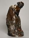 Mid 19th century French bronze 'Reflections' by Alexandre Schoenewerk - picture 9