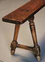 Pair of mid 19th century French fruitwood benches - picture 5