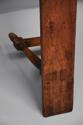 Pair of mid 19th century French fruitwood benches - picture 8