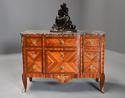 French late 19th century Louis XVI style Kingwood breakfront commode - picture 2