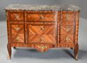 French late 19th century Louis XVI style Kingwood breakfront commode - picture 4