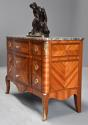 French late 19th century Louis XVI style Kingwood breakfront commode - picture 5