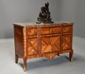 French late 19th century Louis XVI style Kingwood breakfront commode - picture 7