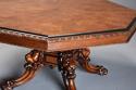 Superb mid 19thc Irish pollard oak octagonal tilt top centre table - picture 6