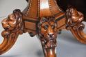 Superb mid 19thc Irish pollard oak octagonal tilt top centre table - picture 8
