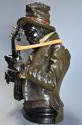19th century life size terracotta 'Banjo Player' After Pietro Calvi - picture 8