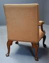 Early 20th century fine quality Georgian style mahogany armchair - picture 12