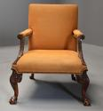 Early 20th century fine quality Georgian style mahogany armchair - picture 2