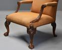 Early 20th century fine quality Georgian style mahogany armchair - picture 4