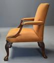 Early 20th century fine quality Georgian style mahogany armchair - picture 9
