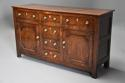 Late 18th/early 19thc oak dresser base of superb patina - picture 1