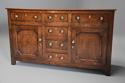 Late 18th/early 19thc oak dresser base of superb patina - picture 2