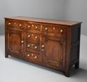 Late 18th/early 19thc oak dresser base of superb patina - picture 3