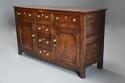 Late 18th/early 19thc oak dresser base of superb patina - picture 4