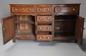 Late 18th/early 19thc oak dresser base of superb patina - picture 5