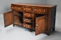 Late 18th/early 19thc oak dresser base of superb patina - picture 6