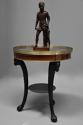 Late 18thc French Empire mahogany and marble gueridon table - picture 1