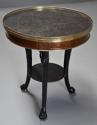 Late 18thc French Empire mahogany and marble gueridon table - picture 2