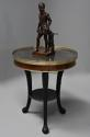 Late 18thc French Empire mahogany and marble gueridon table - picture 3