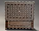 Superb quality 19thc Anglo Indian shisham wood ivory inlaid box - picture 6