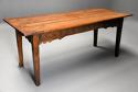 Late 18th century and earlier oak farmhouse table of superb patina - picture 2