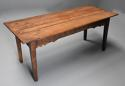 Late 18th century and earlier oak farmhouse table of superb patina - picture 3