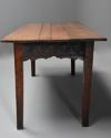 Late 18th century and earlier oak farmhouse table of superb patina - picture 6
