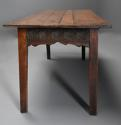 Late 18th century and earlier oak farmhouse table of superb patina - picture 8