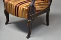 Pair of fine quality 19thc French Empire style rosewood open armchairs - picture 10