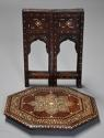 Highly decorative 19thc ivory inlaid Anglo Indian octagonal table - picture 11