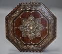 Highly decorative 19thc ivory inlaid Anglo Indian octagonal table - picture 6