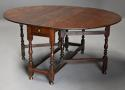 17thc oak gateleg table of good, versatile size with fine patina - picture 2