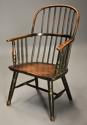 19thc West Country ash hoop back Windsor chair with wonderful patina - picture 1