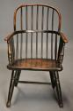 19thc West Country ash hoop back Windsor chair with wonderful patina - picture 4