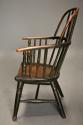 19thc West Country ash hoop back Windsor chair with wonderful patina - picture 6