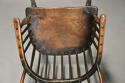 19thc West Country ash hoop back Windsor chair with wonderful patina - picture 8