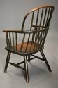 19thc West Country ash hoop back Windsor chair with wonderful patina - picture 9
