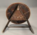 Mid 19th century ash cricket table with original painted base - picture 11