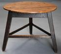 Mid 19th century ash cricket table with original painted base - picture 5