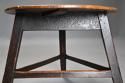 Mid 19th century ash cricket table with original painted base - picture 6