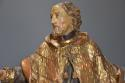 18thc superbly carved polychrome & gilt figure, possibly Saint Peter - picture 5