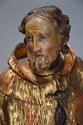 18thc superbly carved polychrome & gilt figure, possibly Saint Peter - picture 6