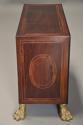 Rare 17thc Italian ebony, ivory & tortoiseshell inlaid table cabinet - picture 10
