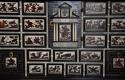 Rare 17thc Italian ebony, ivory & tortoiseshell inlaid table cabinet - picture 6