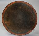 Exceptionally fine 19thc rosewood occasional table with leather top - picture 3